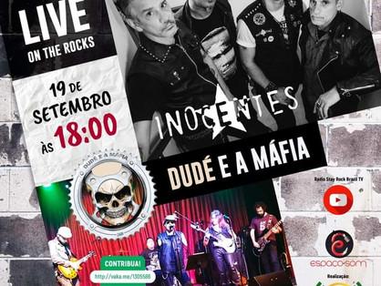 Dudé e a Máfia confirma apresentação no Live On The Rocks com Inocentes no dia 19 de setembro