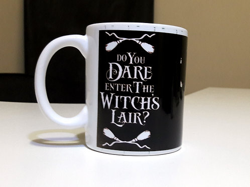 Caneca Do You Dare Enter the Witches Lair - 325ml
