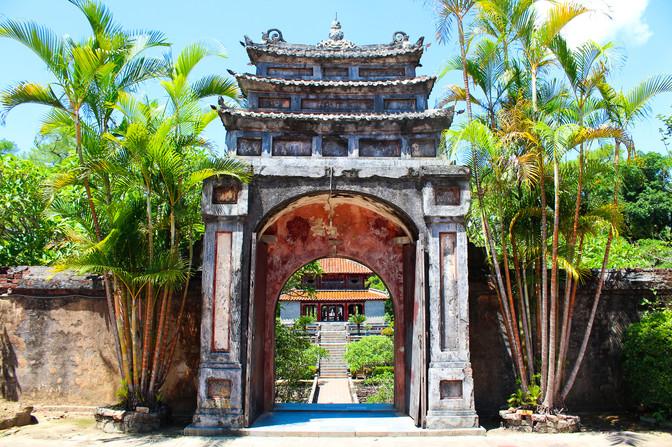Emperor's Tomb in Hue
