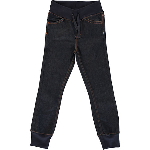 MAXOMORRA Jeans Dark Blue Washed