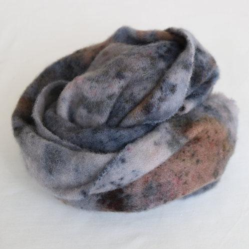 Bundle Dyed Silk Lambswool Scarf