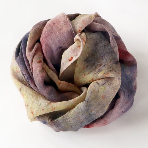 Bundle Dyed Wool Scarf