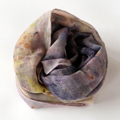 Bundle Dyed Wool Scarf