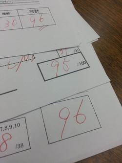中学校定期テスト