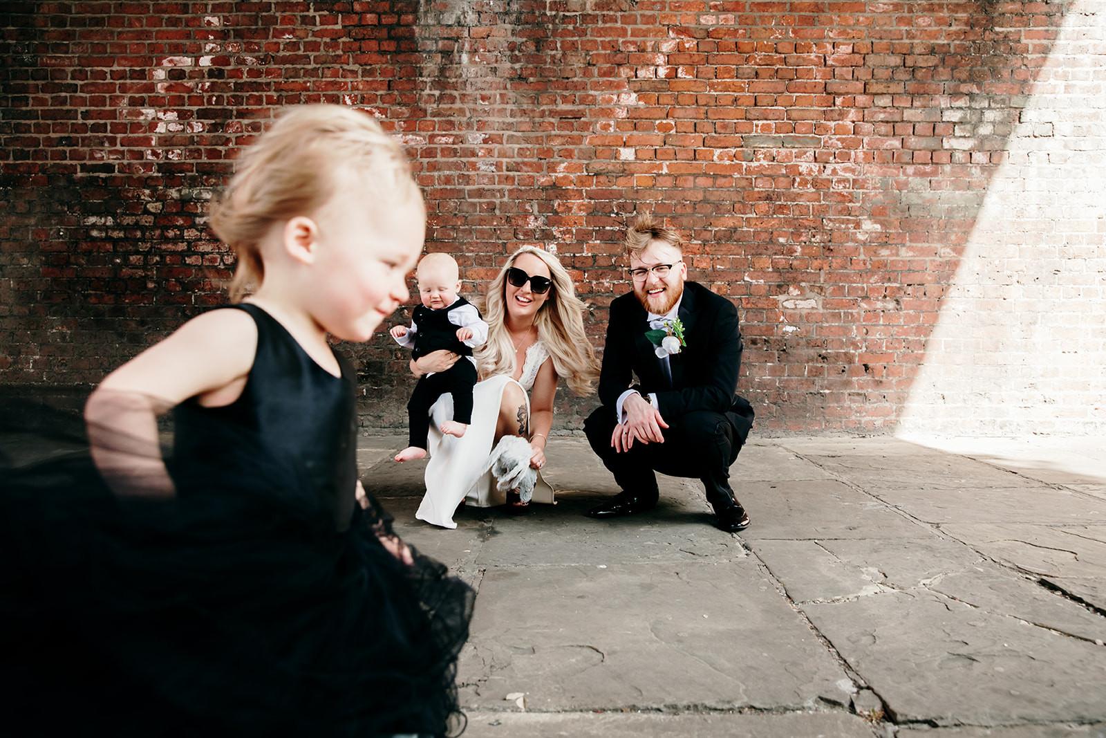 wedding photo in manchester