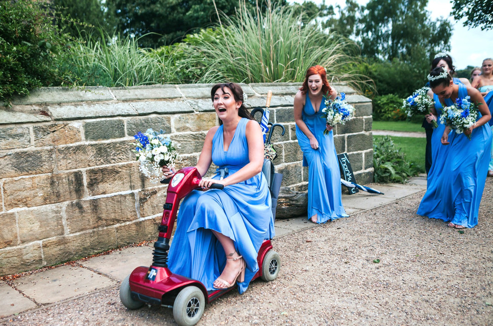Bridesmaids at The Arches, Halifax