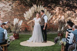 A Rustic Boho Wedding At Barolin Farm