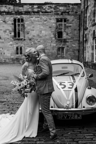 A Wedding In The Ruins At Newburgh Priory