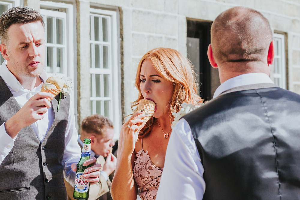 quirky wedding photographer Yorkshire