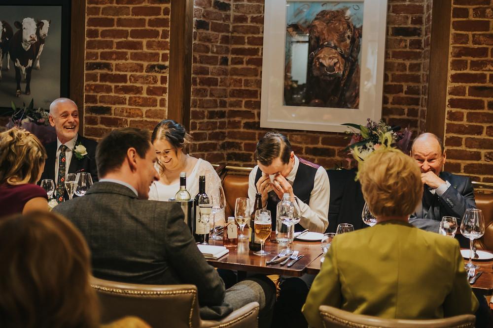 wedding tears, West Yorkshire wedding