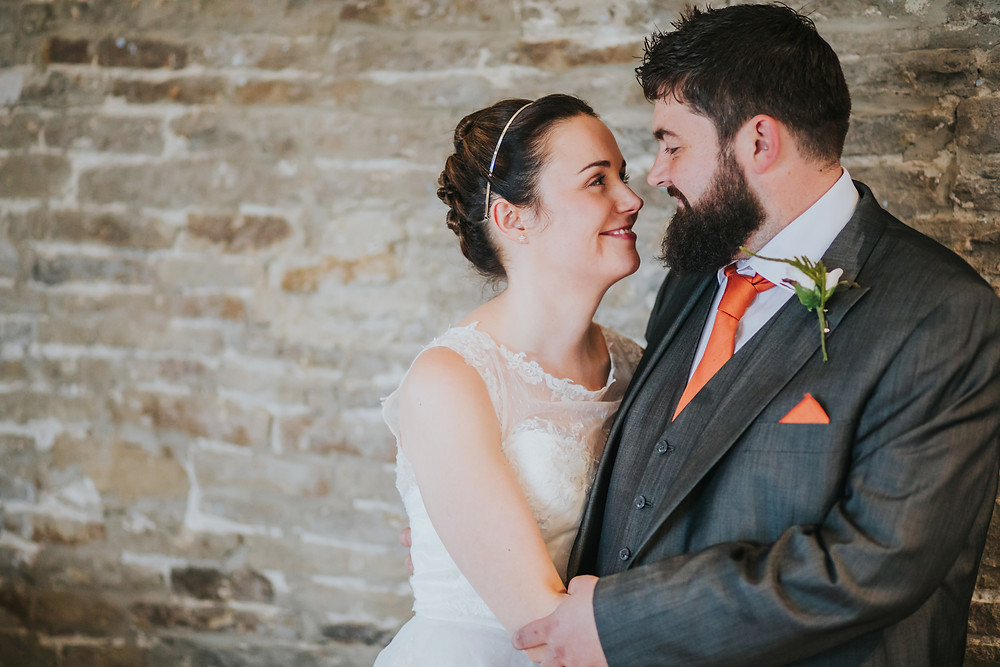 Bride and Groom at The Moorlands Halifax