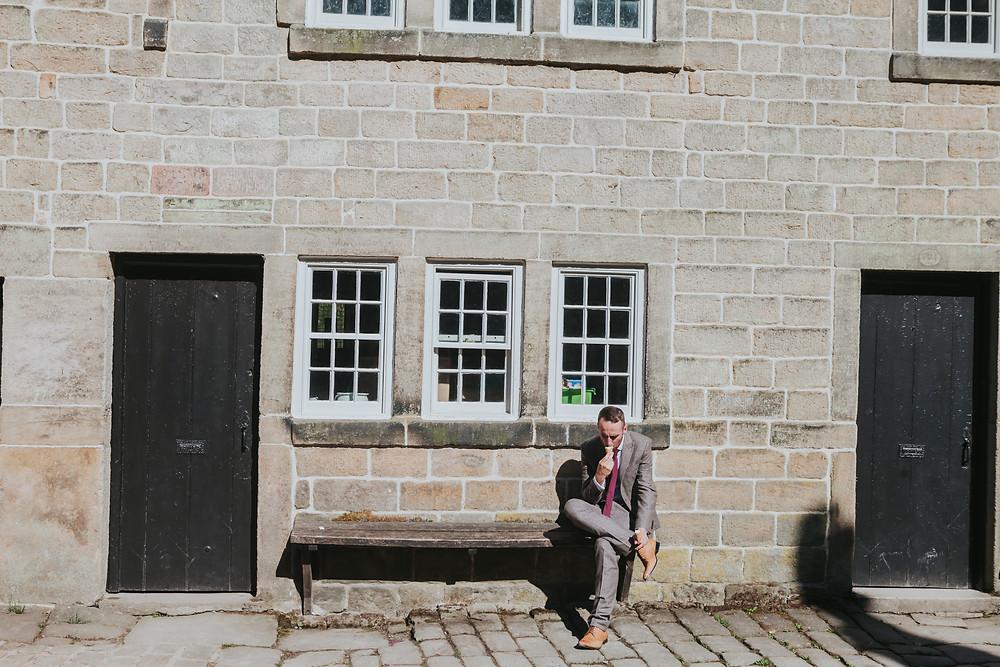 fun wedding photographer Halifax Yorkshire