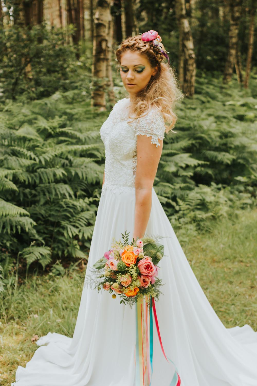 woodland wedding Halifax West Yorkshire