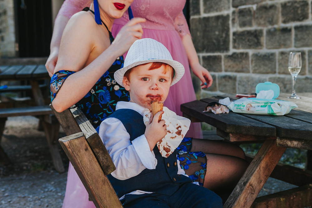 kids at weddings