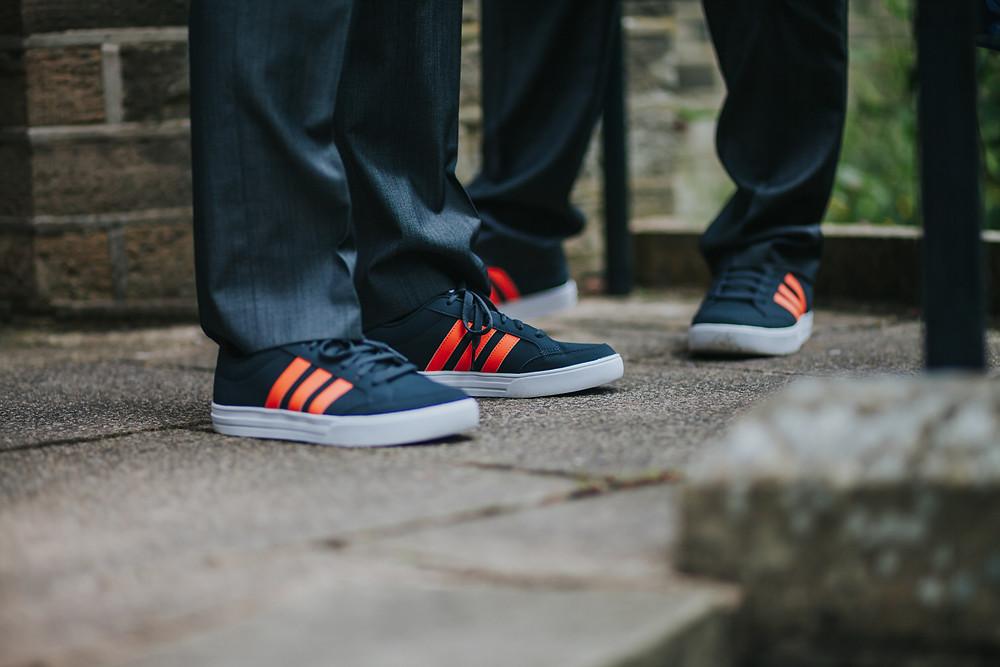 Alternative groom wedding shoes