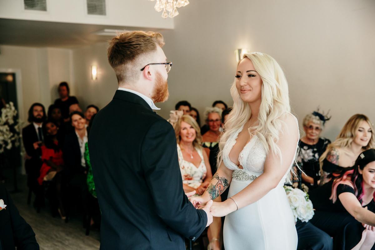 Wedding ceremony in manchester