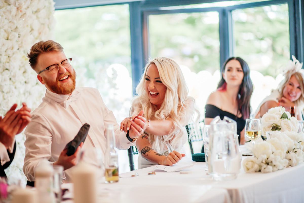 Funny wedding speeches at barca bar, manchester