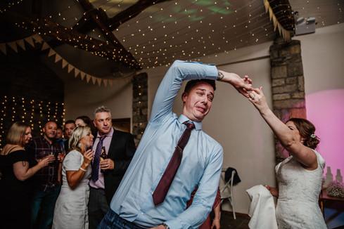 dancing at Blossom Barn, Huddersfield