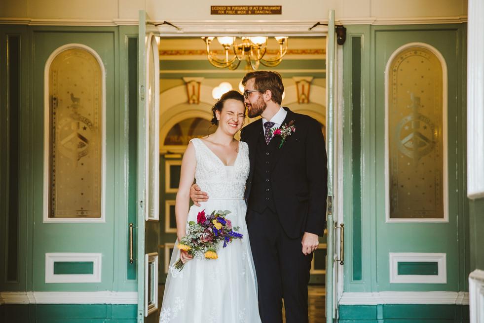 Saltaire wedding