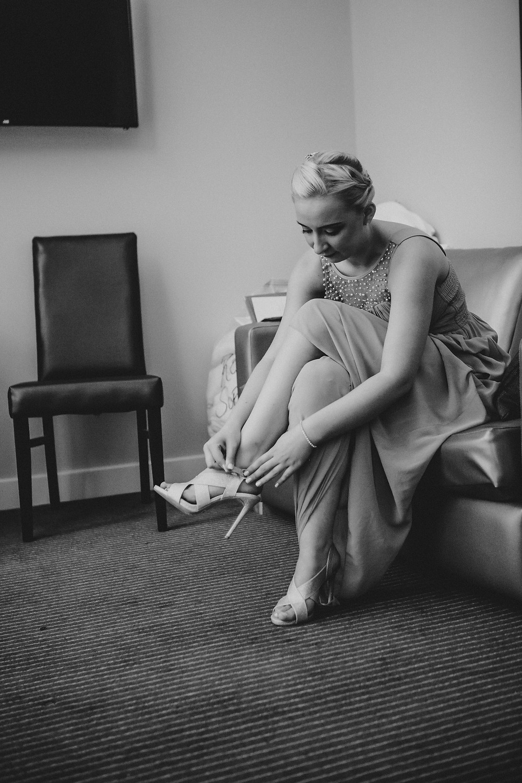 Bridesmaid - Wedding Photography Halifax West Yorkshire