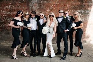 A Black Tie Manchester City Wedding