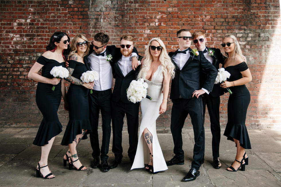A Cool As F&!k Manchester City Wedding
