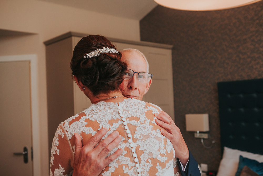 Wedding Photography Bride and Dad