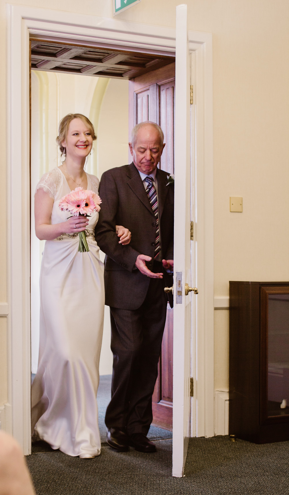 Wedding Photography at Calderdale Registry Office