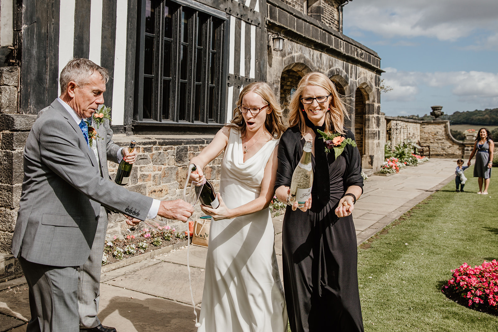 Two Brides At Shibden Hall, Halifax