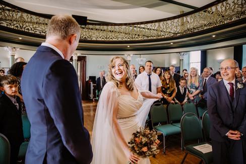 Church wedding Yorkshire