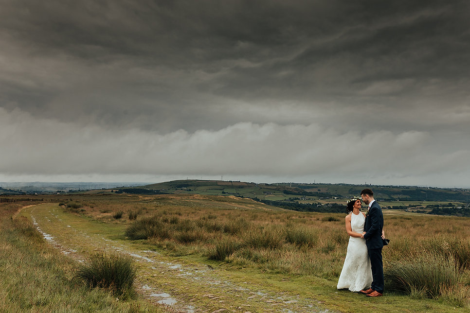 Wuthering Heights Wedding Photo