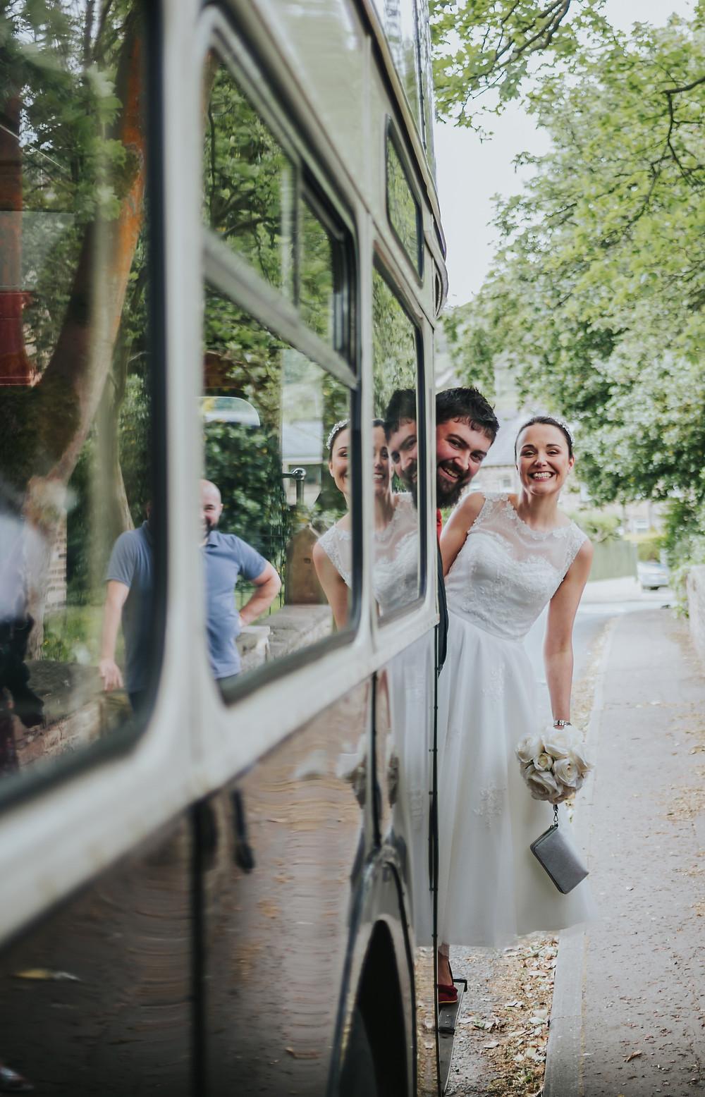 yorkshire wedding bus