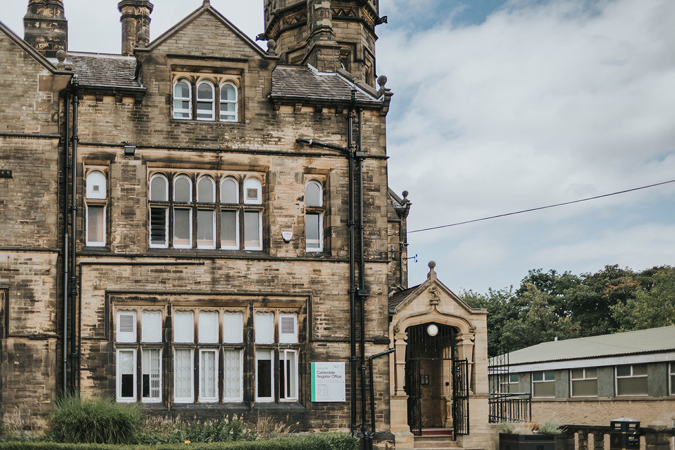 Calderdale Registry Office, Halifax
