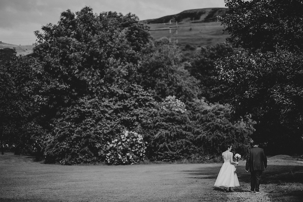 relaxed wedding photography West Yorkshire