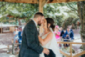 couple getting married at hazlewood castle, yorkshire
