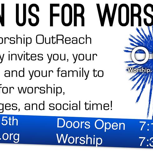 Worship OutReach Night