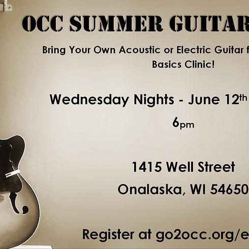 OCC Summer Guitar Clinic
