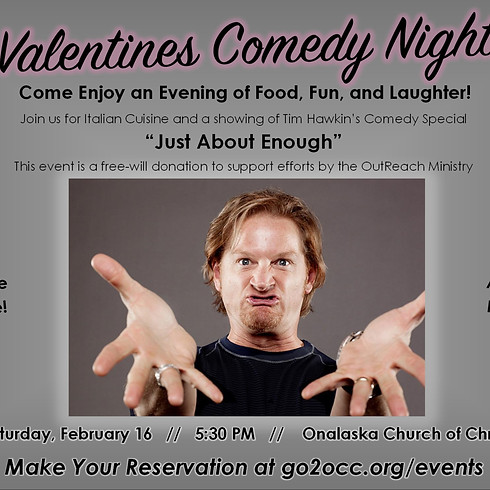 Valentines Comedy Night