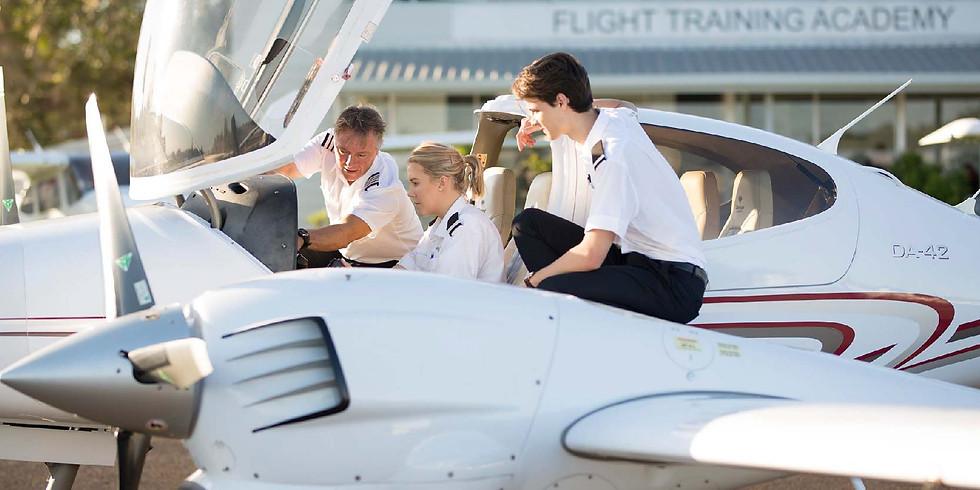 7/22 澳洲航空飛行學院一對一面談會
