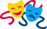 Comedy & Tragedy Masks (Theater).png