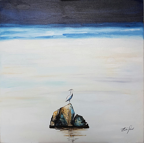 Le heron - N.Forsell
