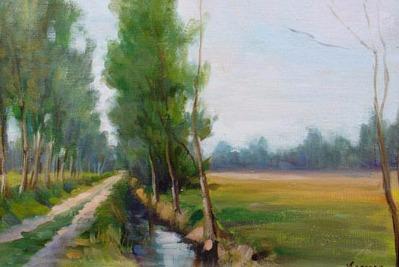 Vanya Ferrara, Le ruisseau, 35x24, Oil_Canvas_edited.jpg
