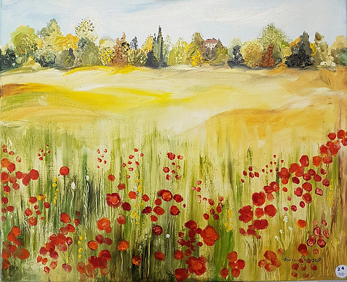Le champ de coquelicots - N.Forsell