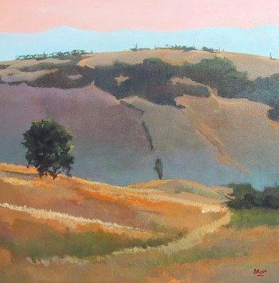 Arno Boueilh, Route du Campo Santo, 100x100 Huile_Toile_edited_edited.jpg