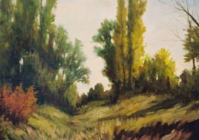 Vanya Ferrara, Heures dorees d'automne, 60x81, Oil_Canvas_edited.jpg