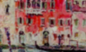 Gherri Moro, Casa rossa a Venezia, 1930, Oil on canvas - Huile sur toile, 30x40cm_edited.jpg