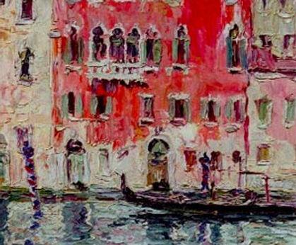 Gherri Moro, Casa rossa a Venezia, 1930, Oil on canvas - Huile sur toile, 30x40cm_edited.jpg