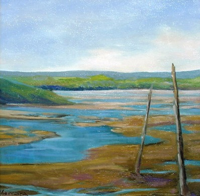 Vanya Ferrara, Maree basse (Irlande), 40x40, Oil_Canvas_edited.jpg
