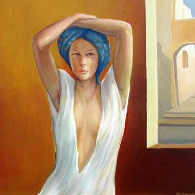 Vanya Ferrara, Prelude a l'ete, 70x70, Oil_Canvas_edited.jpg