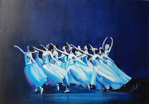 Ballerine bleues - N.Forsell